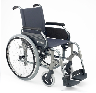 BREEZY 305 S POGONOM NA JEDNU RUKU - standardna invalidska kolica