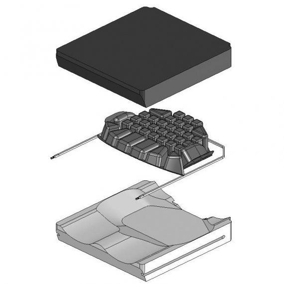 roho hybrid cushion assembly
