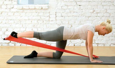 Sissel fitband fitnes traka vježbe s trakom