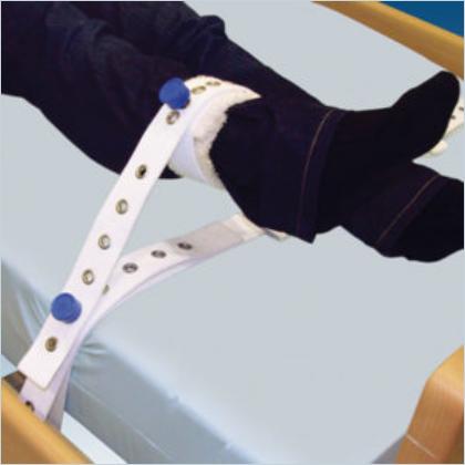 Pojas za humano vezivanje noge, bijeli sa magnetima (šifra 1015 UNI)