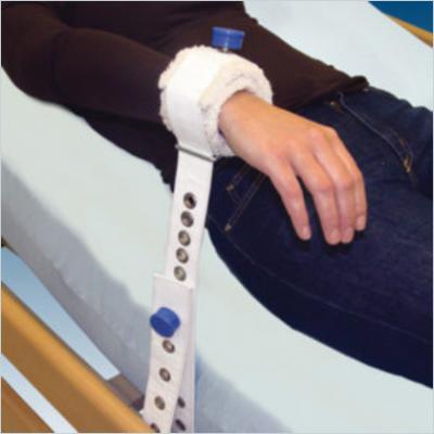 Pojas za humano vezivanje ruke, bijeli, sa magnetima (šifra 1014 UNI)